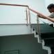 Cầu thang tay vịn gỗ sồi đẹp sắc xảo gia công trực tiếp tại ...